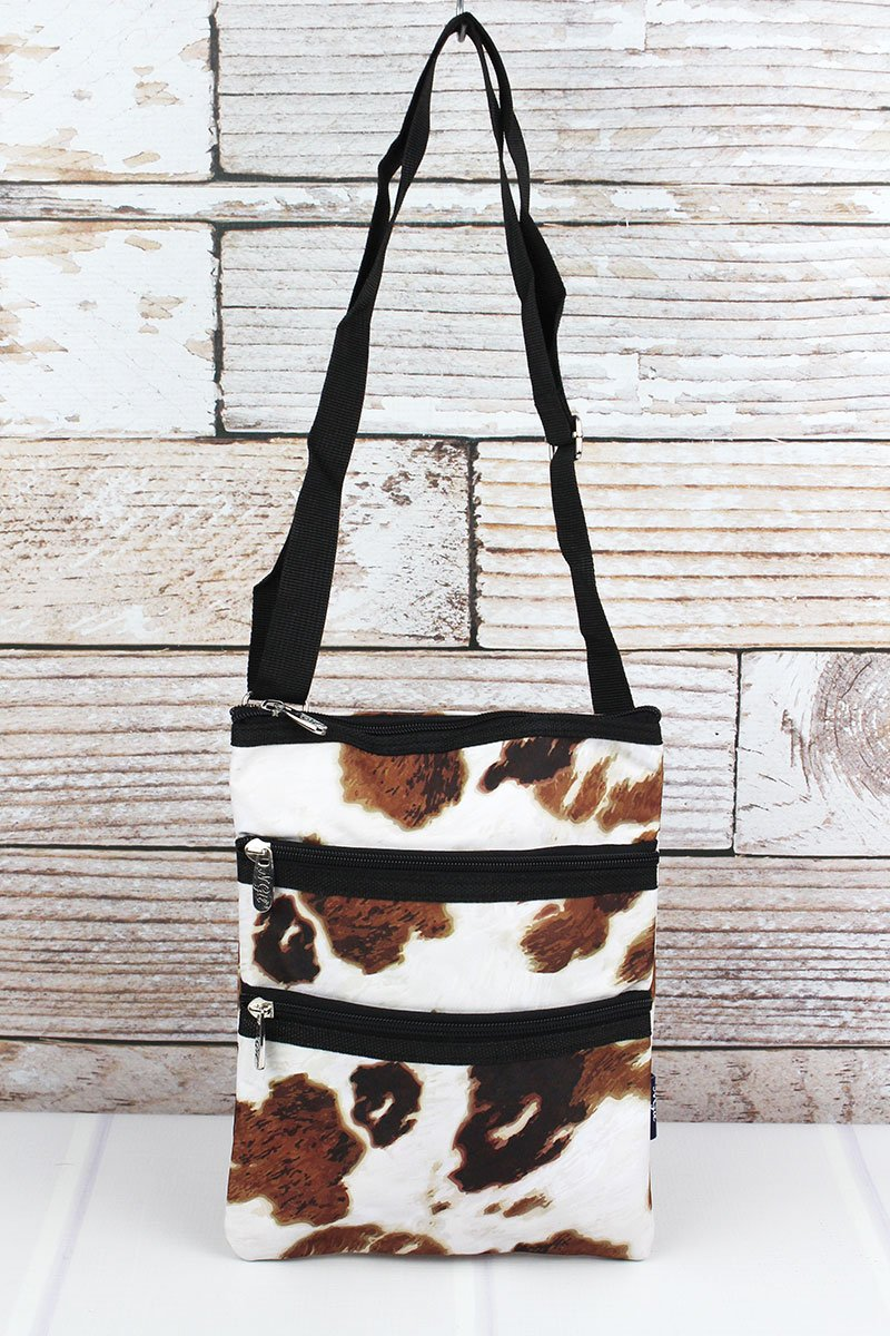 Cow Print Crossbody Bag