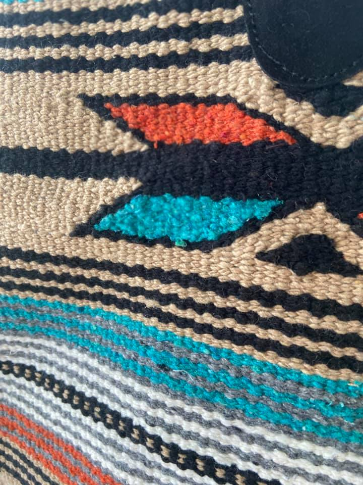 Southwest Desert Saddle blanket Tote